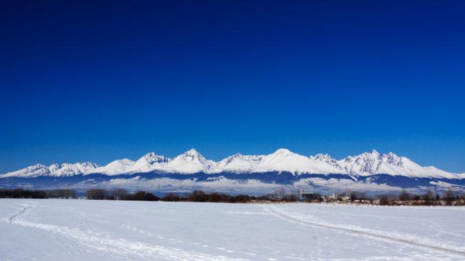 Vysoké Tatry cez zimu